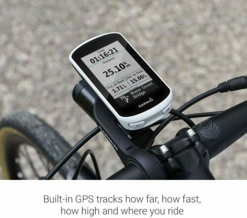 Wireless GPS White Garmin Edge Explore Bike Computer