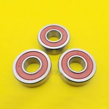 4pcs Nicht Standard Verpackt Metall Ball Lager 6201//10-2RS 10 x 32 x 10mm Dorl