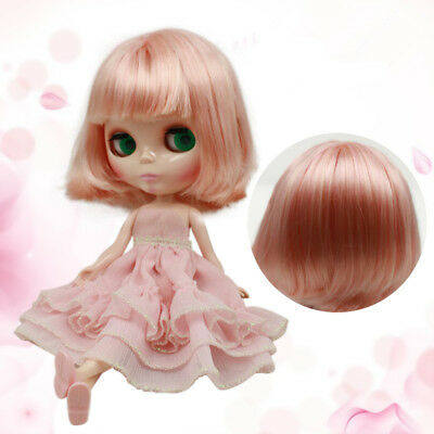 RBL Scalp /& Dome Mix Brown Hair With Bangs R039  For Blythe Doll
