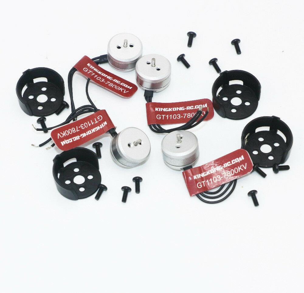 4x Kingkong Brushless Brushless Brushless Motor GT1103 7800KV for Mini 4-axis FLYEGG 100 PNP RC 8ab4b8