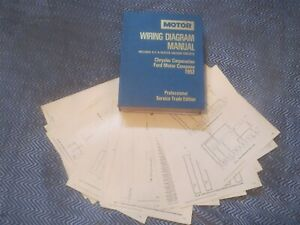 1992 Ford Tempo Mercury Topaz Wiring Diagrams Schematics Set Ebay