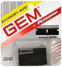 Gem Super Stainless Steel Single Edge Blades 10 Each (Pack of 3)