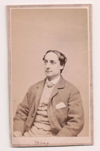 Vintage-CDV-Alfred-W-Young-American-Actor-Tax-Stamp