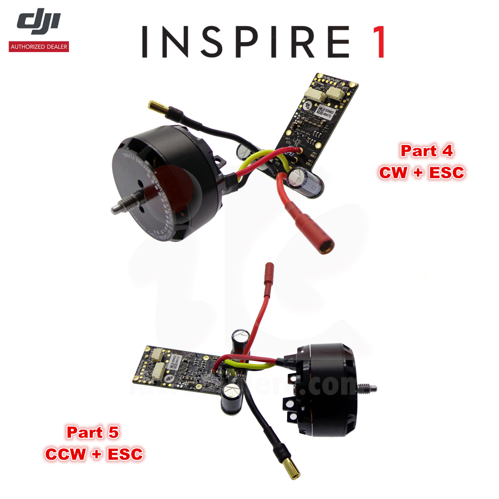 DJI Inspire 1 PRO V2.0 RC Camera Drone WM610 3510 H Brushless CW CCW Motor