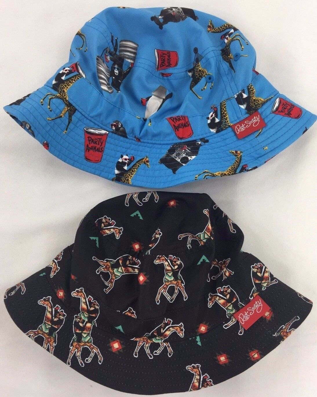 eaabdf3d43a Riot Society Beer Pong Solo Cup Party Animal RARE Mens Adult Sun Bucket Hat  Cap for sale online