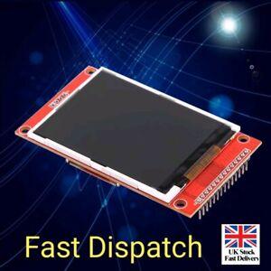 2-4-034-240x320-SPI-TFT-LCD-Serial-Port-Module-3-3V-PCB-Adapter-SD-ILI9341