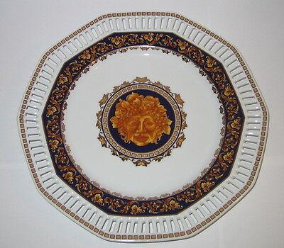 Abile Decorazione Piatto Medusa Piatta Guscio Episodico Porcellana In Stile Nouveau 25cm-