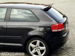 audi a3 8p roof spoiler tuning ebay. Black Bedroom Furniture Sets. Home Design Ideas
