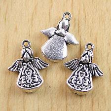 60pcs Tibetan silver symbol charms h2611