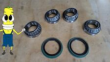 Front Wheel Bearing and Seal Set for Ford Full Size Bronco 1970-1986 RWD 4WD 4x4