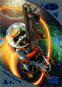 2019-UD-Upper-Deck-Marvel-Premier-Blue-Parallel-36-Rocket-Raccoon-04-50-GOTG
