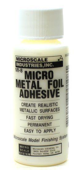 460-116 • Microscale • MI-8 • Micro Metal Foil Adhesive • Metallic Surface