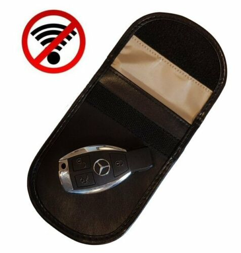 Keyless Entry Car Anti-Theft Fob Signal Blocking Faraday Pouch UK LIMITED OFFER