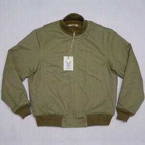 BOB-DONG-Retro-WW2-Tanker-Jacket-Plain-Version-Winter-Military-Combat-Uniform