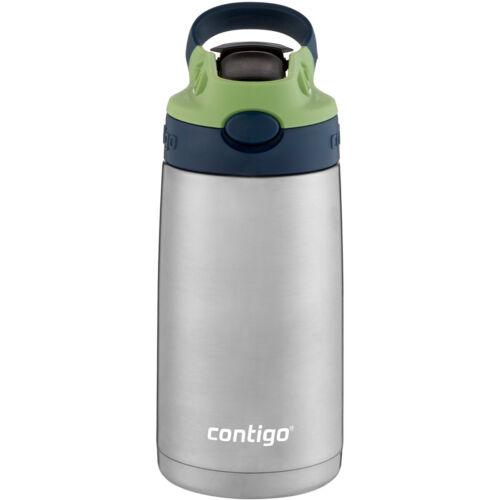 Insulated Stainless Steel AutoSpout Straw Water Bottle Contigo Kid/'s 13 oz