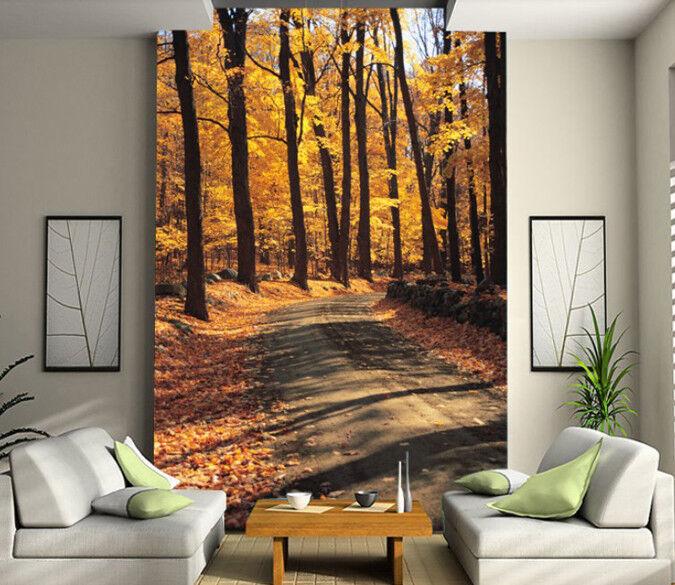3D Herbstbäume 74 Tapete Wandgemälde Tapete Tapeten Bild Familie DE Summer