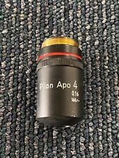 Nikon Plan Apo 4 016 160 Microscope Objective