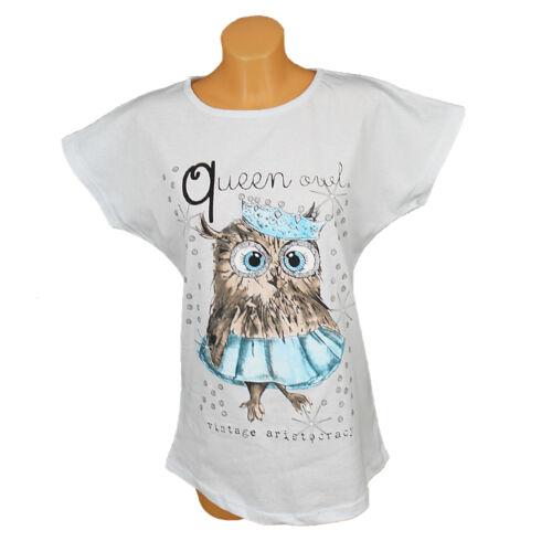 Magliette da donna Camicia A Maniche Corte Maglietta T-Shirts Top trägertop CANOTTA