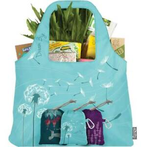ChicoBag-Inspire-Collection-Reusable-Bag-Hummingbird-Bee-Dandelion-Grocery