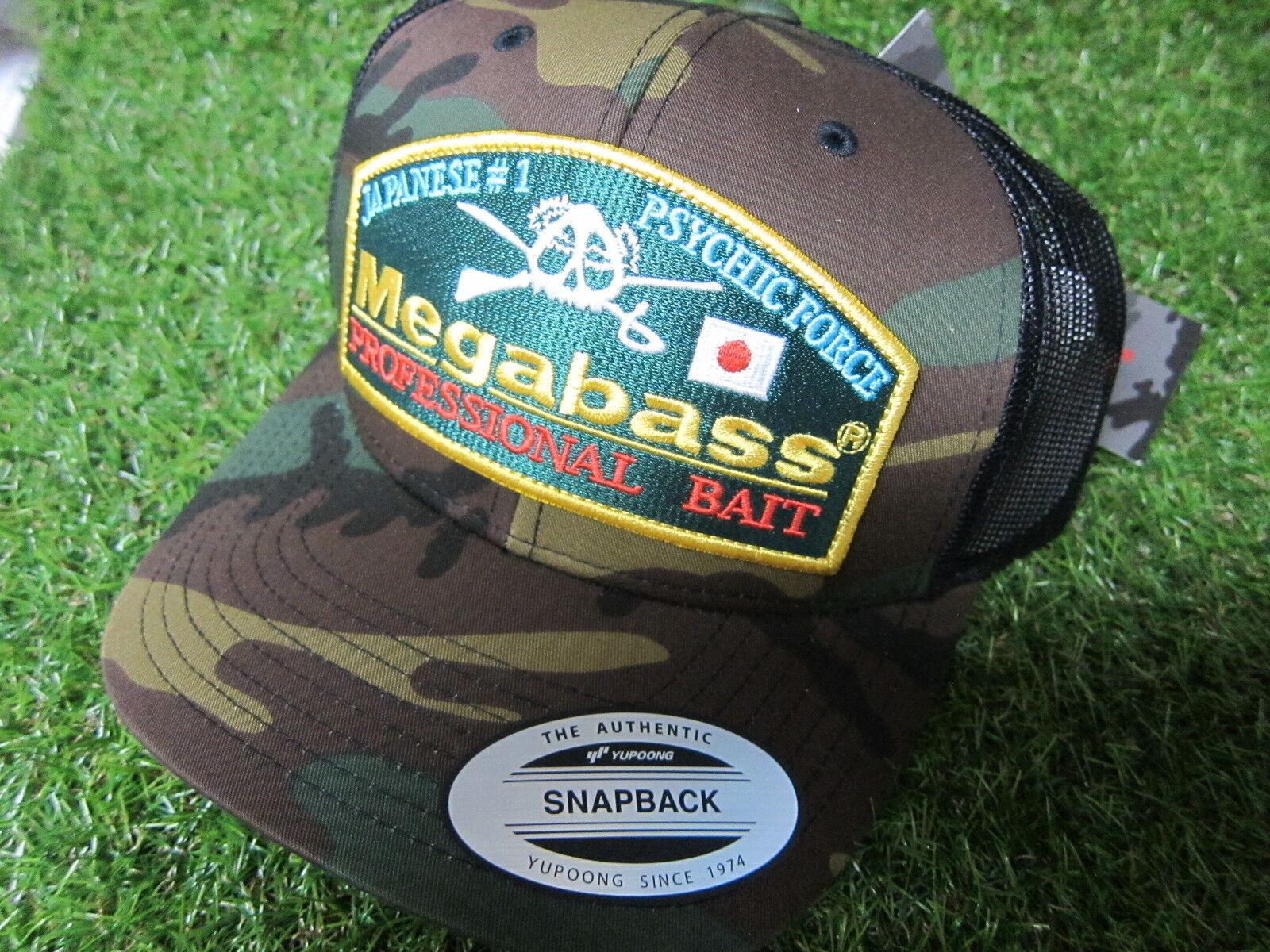 Srock item Megabass Trucker Hat Mesh Cap Throwback Trucker Camo aus Japan