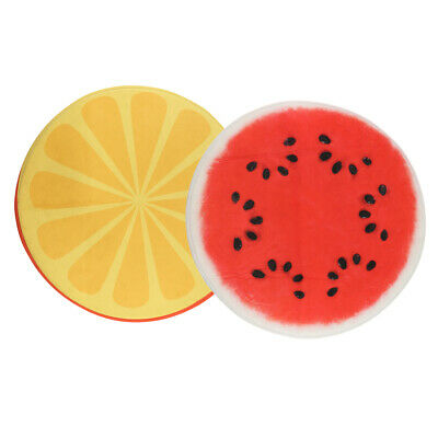 Coulorful Fruits Round Non Slip Floor Rugs Small Bedroom Kitchen Mat 23 6