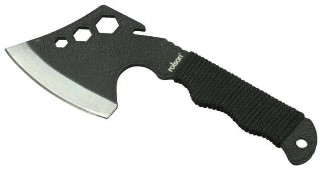 CAMPING AXE HATCHET - MULTI FUNCTION - 270g - 24cm - CARBON STEEL - PLUS SHEATH
