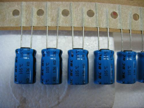 Kondensator Kondensator 100V 47ΜF 47MF 47uF 105°C philips Satz 10