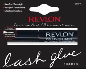 2d3b2133805 Revlon Precision Eyelash Glue Brush-On Lash Adhesive - BLACK / DARK ...