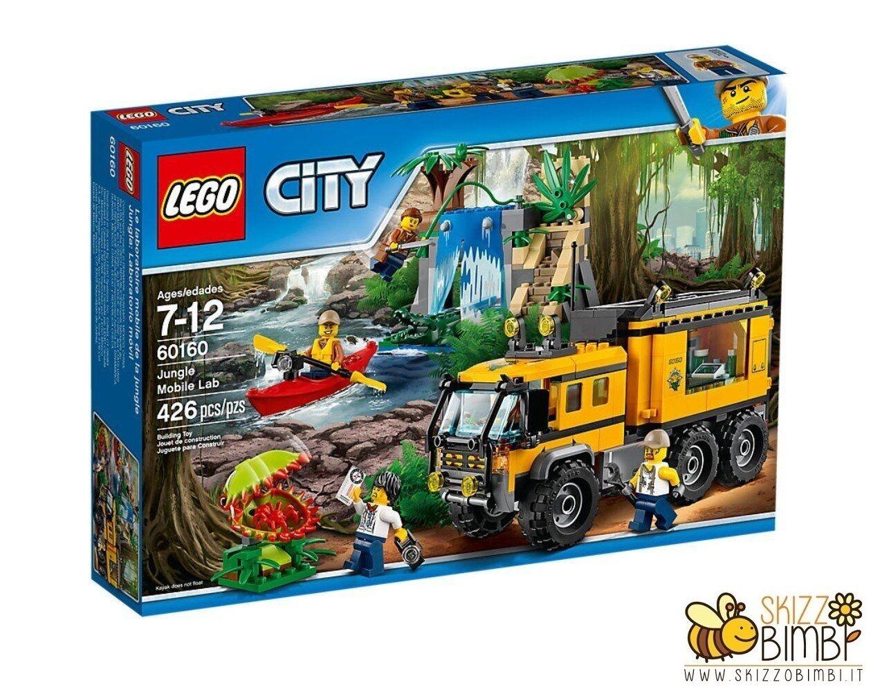 Lego City Jungle Explorers Laboratorio mobile nella giungla