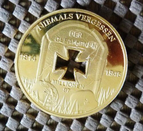 Gedenkmünze 1914-1945 zu ehren der Gefallenen