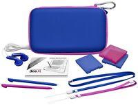 Nintendo 3ds Xl / 3ds Xl Essential Color Pack Blau Pink Tasche Zubehör Set