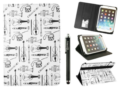 Universal Executive Wallet Case Cover Folio Fits Sannuo 10.1 Inch Tablet PC