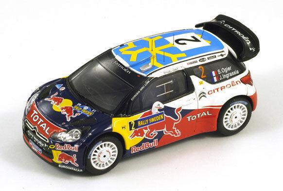 SPARK Citroen DS3 WRC No.2 4th Schweden Rally 2011 Ogier Ogier Ogier - Ingrassia S3301 1 43 f819ee