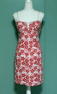 vintage y2k pink flower strappy corset laceup bodycon 90s