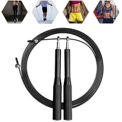 Springseil Speed Rope Fitness Ausdauer /& Abnehmen Ideal für Boxen MMA,Crossfit