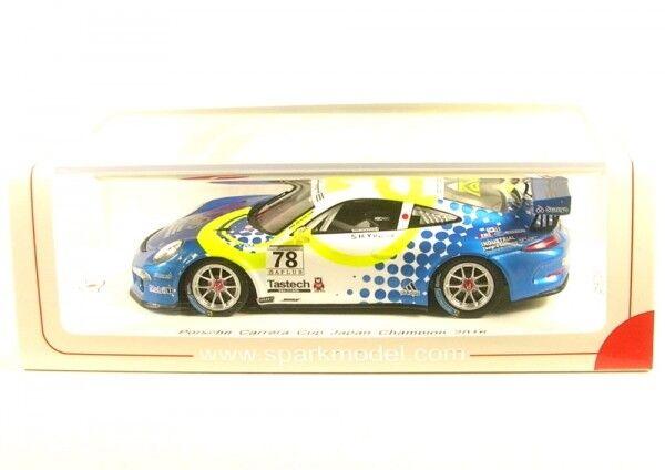 Porsche no.78 Carrera Cup Japan Champion Champion Champion 2016 (Tsubasa KONDO ) b3fc47