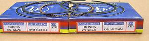 HONDA-CX650-T-GL650-PISTON-RINGS-2-SETS-STD-SIZE-13011-ME2-004-13011-ME7-004