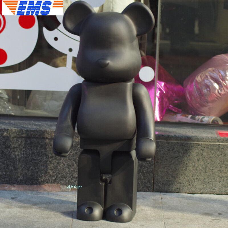 1000% orsoBRICK Nero Be@rbrick moda giocattolo VINILE cifra AZIONEVERSIONE LIMITATA