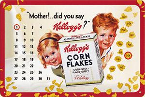 Pancarte-Metal-Calendrier-Kelloggs-Mother-na-3020