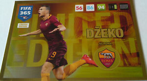 PANINI-ADRENALYN-XL-FIFA-365-2017-UPDATE-EDITION-LIMITED-EDITION-DZEKO