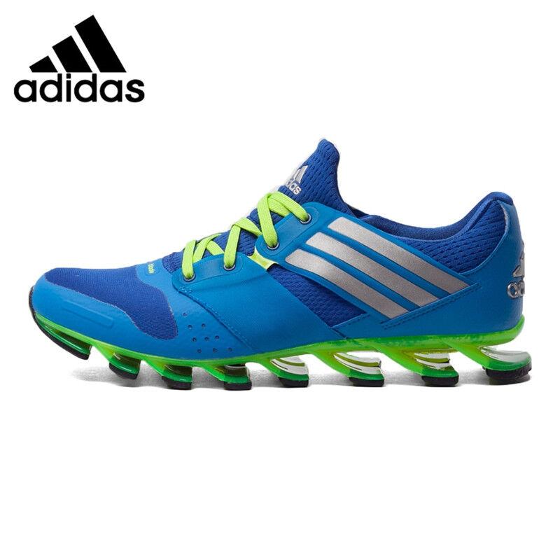 Adidas Springblade Solyce Blau Grün Mens Running schuhe AQ5242 Größe 10.5