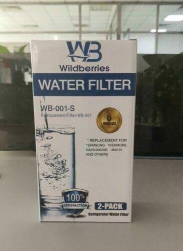 Samsung RF28HDEDPWW RF28HFEDBSR RF28HFEDTSR Refrigerator Water Filter 2 Pack