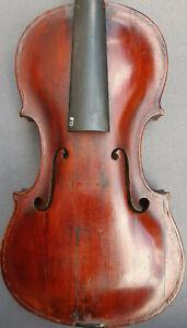 4-4-Violine-mit-Zettel-Paolo-Antonio-Testore-1736-Geige-angeschaftet