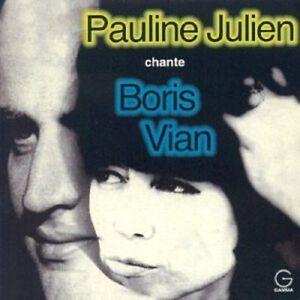 Pauline-Julien-Julien-Chante-Vian-New-CD-Canada-Import