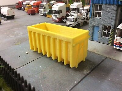 Would Suit 1//76 1//72 Scale And 00 Gauge 3d Printed Skip Yellow