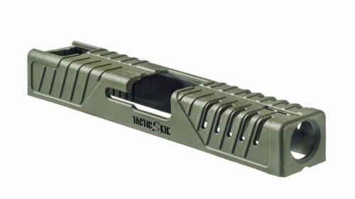 37 FAB Tactique-peau 17-S vert olive pour Glock 17 22 31 polymère Slide Cover