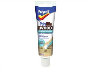 Polycell-PLCWGRL75-Polyfilla-For-Wood-General-Repairs-Tube-Light-75g