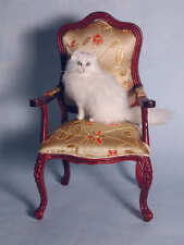 OOAK 1:12 Gorgeous White  Cat By IGMA Artisan Teresa Summers
