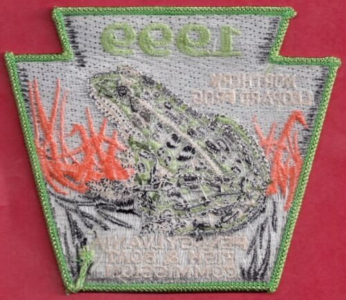 Pa Pennsylvania Fish Game Commission NEW PF/&BC Non-Game 1999 Leopard Frog Patch