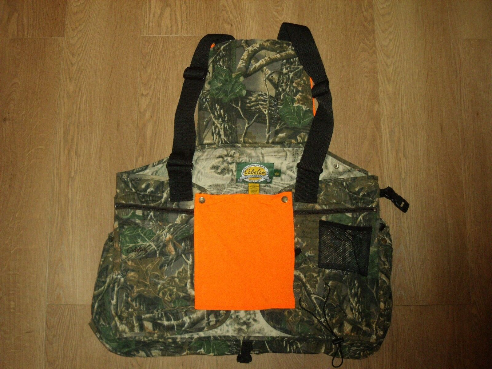 Cabela's Men's Upland Strap Game Vest Hunting Pigeon Pheasant Shooting Fishing L